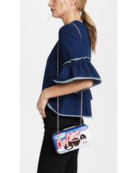 Alice + Olivia - Blue Shirley Cupcakes Large Clutch - Lyst