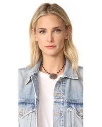 Ela Rae | Multicolor Moonstone Pendant Necklace | Lyst