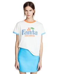 Marc Jacobs White Fanta Tee Shirt