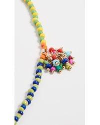 Roxanne Assoulin Multicolor Patchwork Beaded Necklace