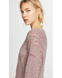 Rag & Bone - Pink Roman Sweater - Lyst
