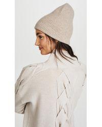 Eugenia Kim Natural London Beanie Hat