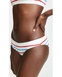 Solid & Striped Brown Madison Bikini Bottoms