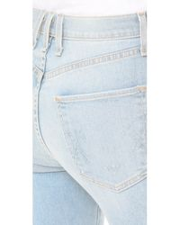 McGuire Denim Blue High Waisted Vintage Slim Jeans