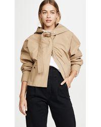 3.1 Phillip Lim Natural Hooded Jacket