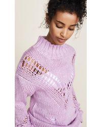 Glamorous - Purple Lilac Sweater - Lyst