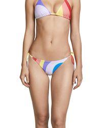 Mara Hoffman - Blue Lei Bikini Bottoms - Lyst