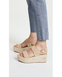 Joie Multicolor Galicia Two Band Wedges
