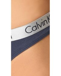 Calvin Klein Multicolor 3 Pack Radiant Cotton Thongs
