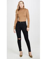 Reformation Black High & Skinny Jeans