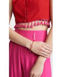 Shashi Red Lilu Seed Bracelet - Turquoise
