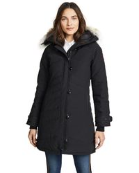 Canada Goose Gray Victoria Down-Filled Jacket