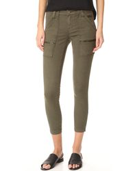 Joie | Green Park Skinny Utility Cargo Pants | Lyst