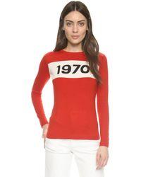 Bella Freud | Red 1970 Sweater | Lyst