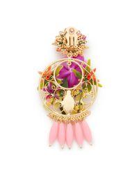 Mercedes Salazar | Pink Rosita Mora Clip On Earrings | Lyst