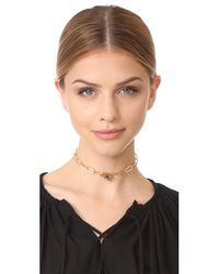 Jennifer Zeuner - Metallic Galit Choker Necklace - Lyst