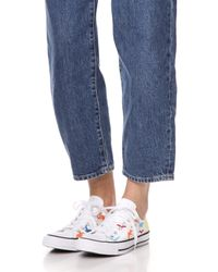 Converse - White Chuck Taylor All Star X Mara Hoffman Ox Sneakers - Lyst