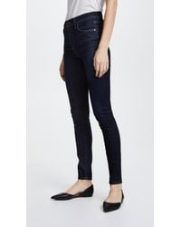 Citizens of Humanity Blue Rocket Skinny Jeans
