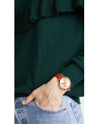 Nixon - Multicolor Kensington Leather Watch Pack, 33mm - Lyst