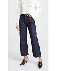 Simon Miller Blue Quinby Jeans