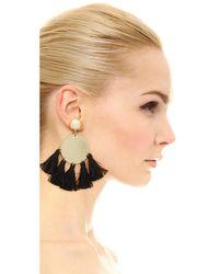 Shashi - Black Jamie Earrings - Lyst