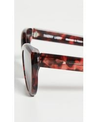 Thierry Lasry Brown Demony Sunglasses
