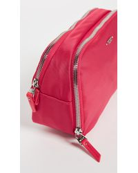 Tumi Pink Lesley Cosmetic Case