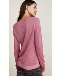 Scotch & Soda Pink Fine Sweater