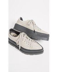 PUMA - Gray Fenty X Pointy Creeper Sneakers - Lyst