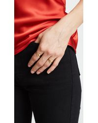 Gorjana - Metallic Chloe Mixed Stacking Ring Set - Lyst