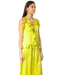 Marissa Webb - Yellow Saige Dress - Lyst