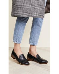 Madewell Black Perin Loafers