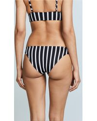 Tori Praver Swimwear Black Isla Classic Bikini Bottoms