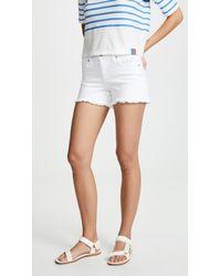 Joe's Jeans White The Ozzie Shorts