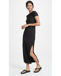 Stateside Black Long Tee Dress