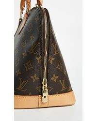 Louis Vuitton Natural Monogram Alma Bag