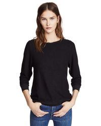 Wildfox Black Basic Pullover