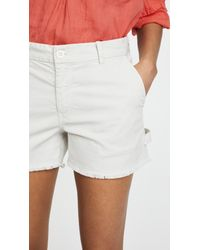 Nili Lotan Multicolor Carpenter Shorts