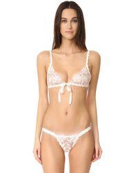 Hanky Panky - White Elizabeth Keyhole Bikini Briefs - Lyst