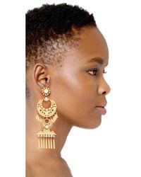 Elizabeth Cole - Metallic Kalua Earrings - Lyst