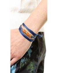 Aurelie Bidermann Blue Takayama Bracelet
