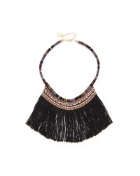 Adia Kibur - Black Charlie Statement Necklace - Lyst