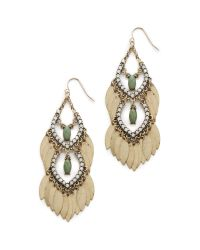 Adia Kibur | Green Sari Earrings | Lyst