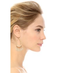 Adia Kibur - Metallic Georgia Earrings - Lyst