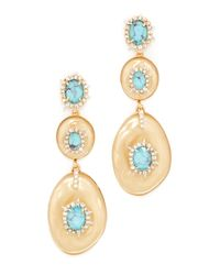 Alexis Bittar | Metallic Liquid Silk Dangling Earrings | Lyst
