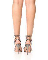 Aquazzura Multicolor Monaco Beaded 105mm Sandal