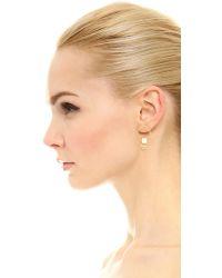 Amber Sceats - Metallic Dylan Earrings - Lyst