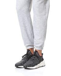 Ash - Black Magma Python-print Fabric Sneaker - Lyst
