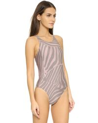 Adidas By Stella McCartney Pink Performance Swimsuit