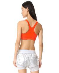 Adidas By Stella McCartney - Multicolor Running Climachill® Stretch Sports Bra - Lyst